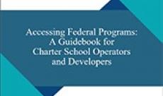 Cover page of the Accessing Federal Program report