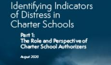 Identifying Indicators of Distress in Charter Schools