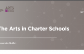 "Cover page for ""The Arts in Charter Schools"""