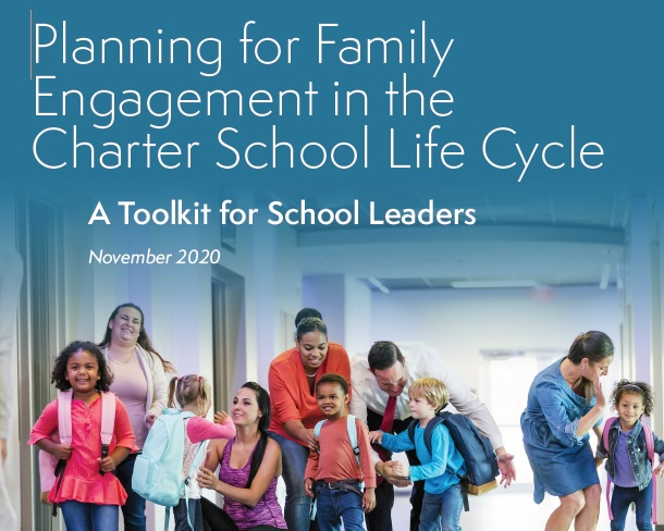 Family Engagement report cover